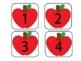 Apple Number Line Cards (1-100)