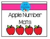 Apple Number Mats
