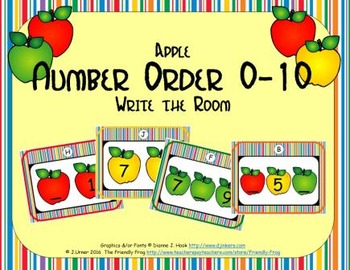 Apple Number Order 0-10