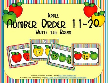 Apple Number Order 11-20