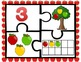 Apple Number Puzzles 0-10 ~Color & B&W~  Great Center!  CC Aligned!