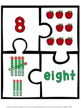 Apple Number Puzzles