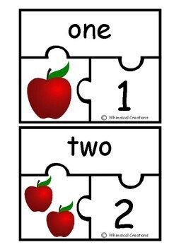 Apple Number Puzzles (1-10) #StartFreshBTS