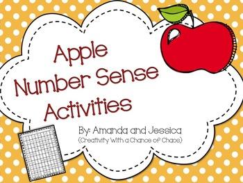 Apple Number Sense Activities