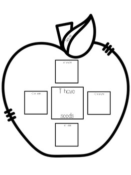 Apple Number Sense Craftivity