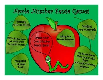 Apple Number Sense Games