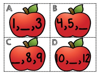 Apple Number Sequencing
