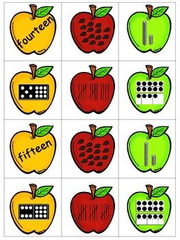 Apple Number Sort 11-20