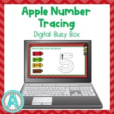 Apple Theme | Digital Numbers Activity