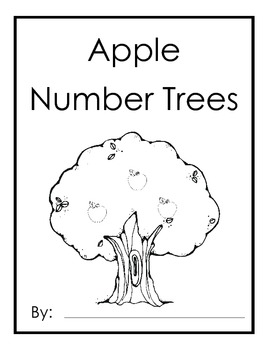 Apple Number Trees Booklet