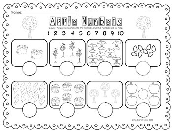 Apple Number Writing