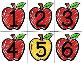 Apple Numbers 0-120