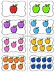 Apple Numbers Matching and Sorting Math Games