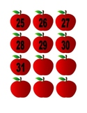 Apple Numbers for Calendar or Math Activity