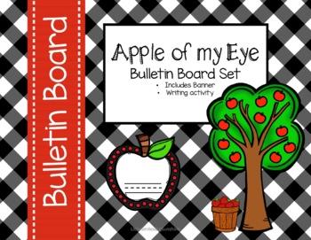 Apple Of My Eye - Bulletin Board set
