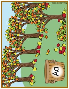 Alphabet - Apple Orchard
