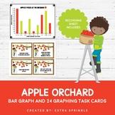Apple Orchard Bar Graph Task Cards
