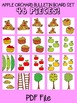 Apple Orchard Bulletin Board Set