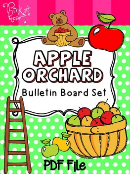 Apple Orchard Bulletin Board Set