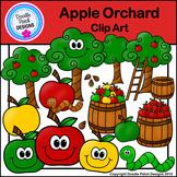Apple Orchard Clip Art