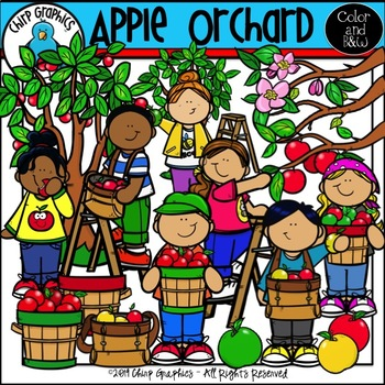Apple Orchard Clipart Worksheets Teaching Resources Tpt