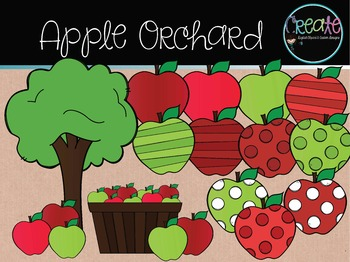 Apple Orchard Clipart
