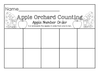 Apple Orchard Counting