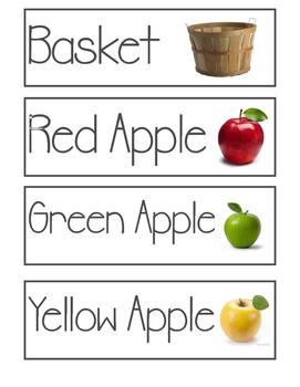 Apple Orchard Dramatic Play Bundle