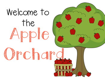 Apple Orchard Dramatic Play Bundle