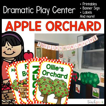 Apple Orchard Dramatic Play Set!