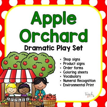 Apple Orchard Dramatic Play Set!