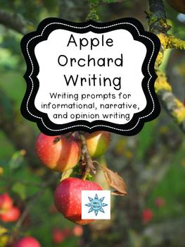 Apple Orchard Field Trip Writing