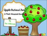 Apple Orchard Fun-Math Worksheet Fun