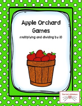 Apple Orchard Game Multiplying and Dividing by 10