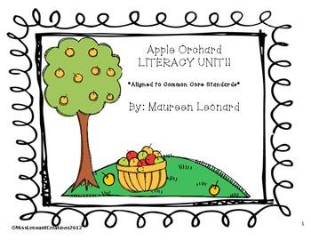Apple Orchard Literacy Unit!