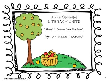 Apple Orchard Literacy Unit!