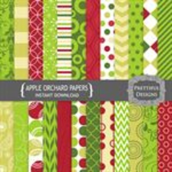 Apple Orchard Paper Pack
