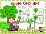 Apple Orchard Play Dough Mats