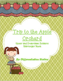 Apple Orchard Scavenger Hunt: Upper and Lowercase Letters,