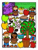 Apple Orchard and Apple Life Cycle Bundle {Creative Clips