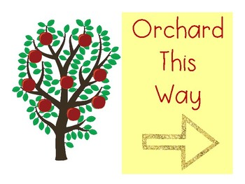 Apple Orchard and Store Dramatic Play