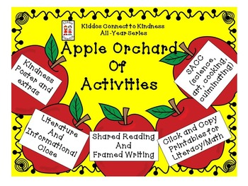 Apple Orchard of Activities - Kiddos Connect to Kindness A
