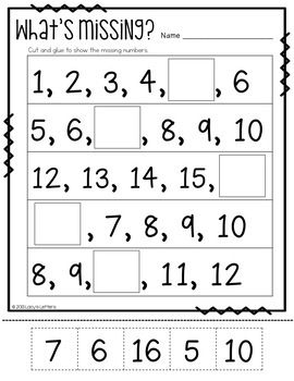 Apple Order - An Apple Themed Set of Number Order Activities