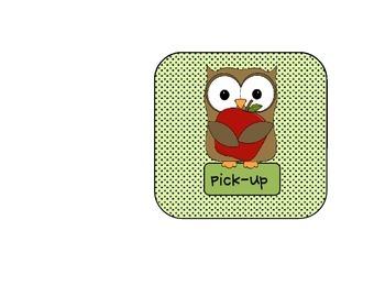 Apple Owl Dismissal Chart