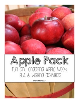 Apple Pack (ELA & Writing Activities)