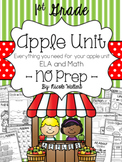 Apple Packet – First Grade {No PREP}