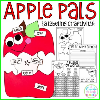 Apple Pals {a Labeling Craftivity}