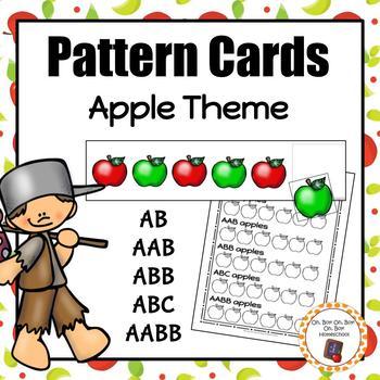 Patterns: Apple Pattern Cards - S