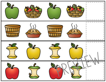 Apple Pattern Strips