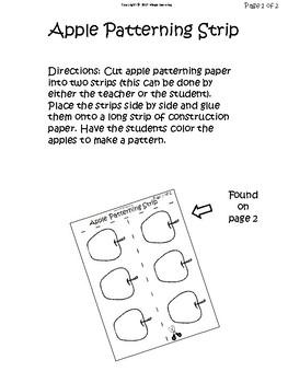 Apple Patterning Strip